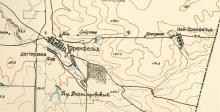 Map of Ährenfeld and Neu-Ährenfeld (1935)